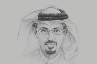 Sketch of <p>Hamad Buamim, President and CEO, Dubai Chamber,</p>