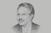 Sketch of <p>Ahmed Lahlimi Alami, High Commissioner, High Commission for Planning (Haut Commissariat au Plan, HCP)</p>