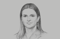 Sketch of <p>Sahar Nasr, Minister of Investment and International Cooperation</p>