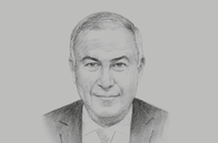 Sketch of <p>Hussein Choucri, Chairman and Managing Director, HC Securities & Investment</p>