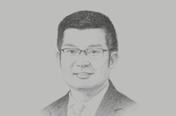 Sketch of <p>Liman Zhang, CEO, Huawei Myanmar</p>