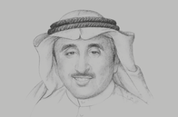 Sketch of <p>Abdulwahab Al Bader, Director-General, Kuwait Fund for Arab Economic Development (KFAED)</p>