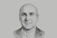 Sketch of <p>Muhannad Shehadeh, Minister of State for Investment Affairs</p>