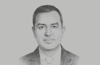 Sketch of <p>Imad Fakhoury, Minister of Planning and International Cooperation</p>