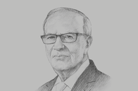 Sketch of <p>President Beji Caid Essebsi</p>