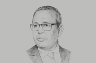 Sketch of <p>Samir Majoul, President, Tunisian Union of Industry</p>
