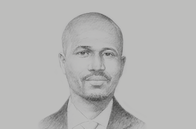 Sketch of <p>Libérat Mfumukeko, Secretary-General, EAC</p>