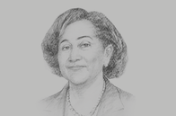 Sketch of <p>Stergomena Lawrence Tax, Executive Secretary, Southern African Development Community (SADC)</p>
