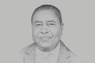 Sketch of <p>Godfrey Simbeye, Executive Director, Tanzania Private Sector Foundation (TPSF)</p>