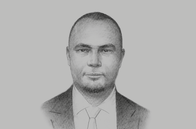Sketch of <p>Baghayo Abdallah Saqware, Commissioner, Tanzania Insurance Regulatory Authority (TIRA)</p>