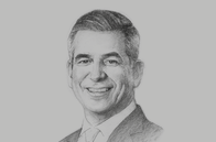 Sketch of <p>Jaime Augusto Zobel de Ayala, Chairman and CEO, Ayala Corporation</p>