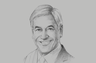 Sketch of <p>Sebastián Piñera Echenique, President of Chile</p>