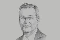 Sketch of <p>Alejandro Díaz de León Carrillo, Governor, Banco de México</p>