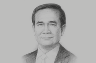 Sketch of <p>Prime Minister Prayut Chan-o-cha</p>