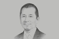 Sketch of <p>Chaipatr Srivisarvacha, CEO, KT ZMICO Securities Company; and Governor, Stock Exchange of Thailand (SET)</p>