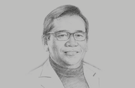 Sketch of <p>Bundit Sapianchai, President and CEO, BCP</p>
