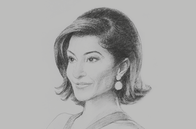 Sketch of <p>Nishita Shah Federbush, Group Managing Director, GP Group</p>