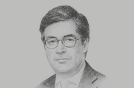 Sketch of <p>Luis Alberto Moreno, President, Inter-American Development Bank</p>