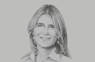 Sketch of <p>Mariela García, CEO, Ferreycorp</p>