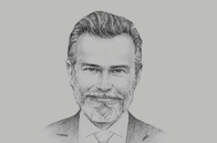 Sketch of <p>Javier Lancha de Micheo, CEO, APM Terminals Callao</p>