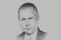 Sketch of <p>Daniel Funes de Rioja, B20 Chair</p>