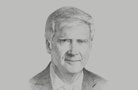 Sketch of <p>Eduardo Escasany, Chairman, Grupo Financiero Galicia</p>