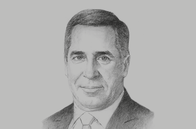 Sketch of <p>Danny Massacese, Upstream Managing Director, Pan American Energy Group</p>