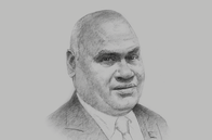 Sketch of <p>Clarence Hoot, Acting Managing Director, Investment Promotion Authority (IPA)</p>