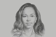 Sketch of <p>Christine A Oseko, Managing Partner, Oseko & Ouma</p>