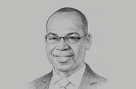 Sketch of <p>Joshua Oigara, CEO and Managing Director, KCB Group</p>