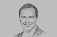 Sketch of <p>Ray W Washburne, President and CEO, Overseas Private Investment Corporation (OPIC)</p>