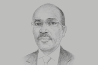Sketch of <p>Ali Guelleh Aboubaker, Minister of Investment</p>
