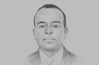 Sketch of <p>Mohamed Aramis, Minister of Decentralisation</p>