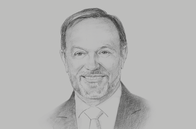 Sketch of <p>Tibor Nagy, Assistant Secretary, Bureau of African Affairs, US Department of State</p>