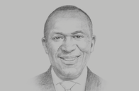 Sketch of <p>Babatunde Paul Ruwase, President, Lagos Chamber of Commerce and Industry</p>