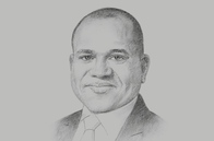 Sketch of <p>Peter Ashade, CEO, United Capital</p>