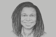 Sketch of <p>Yewande Sadiku, Executive Secretary, Nigerian Investment Promotion Commission (NIPC)</p>