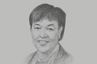 Sketch of <p>Patricia Scotland, Secretary-General, Commonwealth</p>
