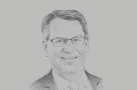 Sketch of <p>Richard Lesser, CEO, Boston Consulting Group</p>