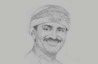 Sketch of <p>Ahmed Al Musalmi, Board Member, Special Economic Zone Authority at Duqm; and CEO, Bank Sohar</p>