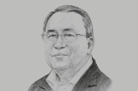 Sketch of <p>U Kyaw Kyaw Maung, Governor, Central Bank of Myanmar (CBM)</p>