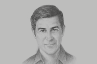Sketch of <p>Parag Khanna, Founder and Managing Partner, FutureMap</p>