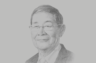 Sketch of <p>U Soe Win, Minister of Planning and Finance</p>