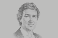 Sketch of <p>Javier Rielo, Vice-President, Total Asia Pacific</p>