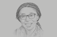Sketch of <p>Vera Songwe, Under-Secretary-General and Executive Secretary, UN Economic Commission for Africa (UNECA)</p>