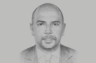 Sketch of <p>Jean-Marie Ackah, President, General Confederation of Businesses of Côte d'Ivoire</p>