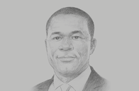Sketch of <p>Eric Asubonteng, President, Ghana Chamber of Mines (GCM); and Managing Director, AngloGold Ashanti (Ghana)</p>