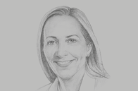 Sketch of <p>Rona Fairhead, Minister of Trade and Export Promotion, UK Department for International Trade (DIT)</p>