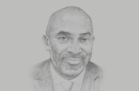 Sketch of <p>Yofi Grant, CEO, Ghana Investment Promotion Centre</p>