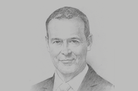 Sketch of <p>Simon McDonald, Permanent Under-Secretary, Foreign and Commonwealth Office of the UK</p>